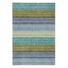 Brushstroke Blue Rug Rug Size: Rectangle 3' x 5'