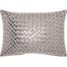 Lamphere Cotton Lumbar Pillow Color: Gray/Pewter