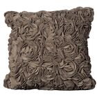 Felt Throw Pillow Color: Light Brown