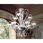 Bolero 9-Light Shaded Chandelier Finish: White