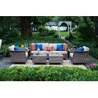Addison Teak Deep Seating Group with Cushions