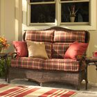 Chatham Loveseat with Cushions Fabric: Collins Mist