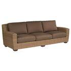 Saddleback Patio Sofa with Cushions Fabric: UL Illusion