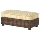 Sonoma Half Ottoman with Cushion Fabric: Paris Honeydew