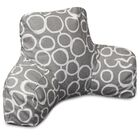 Fusion Bed Rest Pillow Color: Gray