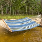 Cara Stripe Double Tree Hammock