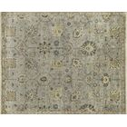 Kehoe Persian Hand-Woven Gray Area Rug Rug Size: Rectangle 8'6