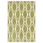 Durgin Hand-Tufted Green/Ivory Area Rug Rug Size: Rectangle 5' x 7'6