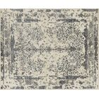 Colson Hand-Knotted Heather Gray/Navy Area Rug Rug Size: Rectangle 11'6