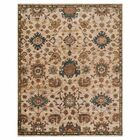 Keister Hand-Knotted Beige/Brown Area Rug Rug Size: Rectangle 9'6