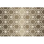 Danko Brown/Beige Area Rug Rug Size: Rectangle 5' x 7'6