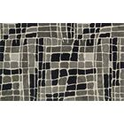 Earnhart Gray/Black Area Rug Rug Size: Square 7'6