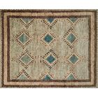Zacarias Hand-Knotted Beige Area Rug Rug Size: Rectangle 4' x 6'
