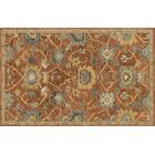 Durkee Rust Gold Area Rug Rug Size: Rectangle 5' x 7'6
