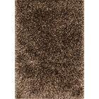 Chobanyan Hand-Tufted Brown/Beige Area Rug Rug Size: Rectangle 3'6