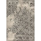 Aparicio Ivory/Charcoal Area Rug Rug Size: Rectangle 3'10