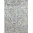 Abelardo Light Blue/Ivory Area Rug Rug Size: Rectangle 3'7