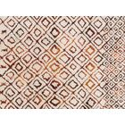 Benson Hand-Woven Ivory/Spice Area Rug Rug Size: Rectangle 5' x 7'6
