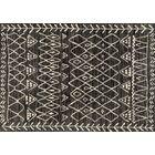 Aparicio Black/Ivory Area Rug Rug Size: Rectangle 7'7