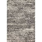 Juneau Hand-Tufted Black/Silver Area Rug Rug Size: Rectangle 5' x 7'6