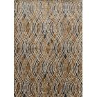 Dangelo Gray/Gold Area Rug Rug Size: Rectangle 9'2