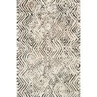 Benson Hand-Tufted Ivory/Granite Area Rug Rug Size: Rectangle 3'6