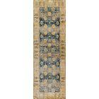 Zehner Blue/Gold Area Rug Rug Size: Runner 2'7