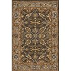 Watertown Wool Gray/Brown Area Rug Rug Size: Rectangle 7'9