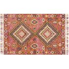 Jovany Hand-Hooked Fiesta Area Rug Rug Size: Rectangle 7'9