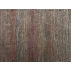 Zanders Charcoal/Sunset Area Rug Rug Size: Rectangle 5'3