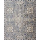 Dietrick Hand-Hooked Blue Area Rug Rug Size: Rectangle 6'7