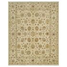 Durden Hand-Knotted Ivory Area Rug Rug Size: Rectangle 2' x 3'