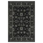 Keever Black Area Rug Rug Size: Rectangle 9'2