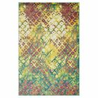 Yanga Red/Yellow Area Rug Rug Size: Rectangle 5'2