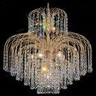 Sprays 6-Light Chandelier Crystal Type: Crystalique Plus