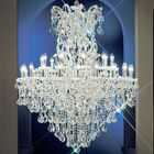 Maria Thersea 31-Light Candle Style Chandelier Finish: Chrome, Crystal Type: Swarovski Spectra