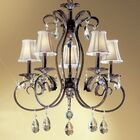 Manilla II 5-Light Shaded Chandelier Crystal Type: Without Crystal