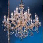 Rialto 12-Light Candle Style Chandelier Finish: Chrome, Crystal Type: Swarovski Spectra