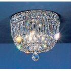 Empress Light Semi-Flush Mount Crystal Type: Swarovski Elements, Size: 7