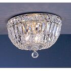 Empress 3-Light Semi-Flush Mount Crystal Type: Swarovski Spectra
