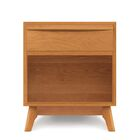 Catalina 1 Drawer Nightstand Top Coat: Conventional, Color: Natural Cherry