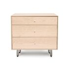 Canvas 3 Drawer Bachelor's Chest Color: Cocoa Maple, Drawer Handle Design: Push, Leg Material: Wood