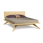 Astrid Platform Bed Color: Natural Maple, Size: Queen