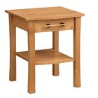 Monterey 1 Drawer Nightstand Color: Saddle Cherry