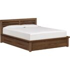 Moduluxe Storage Platform Bed Size: California King, Color: Natural Cherry