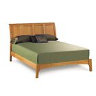 Sarah Platform Bed Color: Saddle Cherry, Size: King