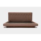 LRG Upholstered Platform Bed Size: California King, Color: Earth Natural