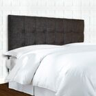 Fluker Button Upholstered Panel Headboard Size: King / California King