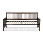 Alhambra Wood Daybed with Open-Slatted Panels Accessories: Euro Top Deck