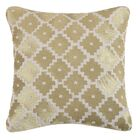 Taos Linen Throw Pillow Color: Gold